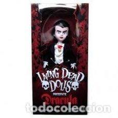 Bambole Moderne: MUÑECA LIVING DEAD DOLLS DRACULA SIN ABRIR COMPLETAMENTE NUEVA. Lote 94310570