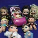 Muñecas Modernas: LOTE DE 6 MUÑECAS BRATZ NIÑAS,2 BEBES Y UNA SILLA. Lote 94447142