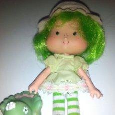 Muñecas Modernas: TARTA DE FRESA DE LOS 80: SORBETE DE LIMA CON SU MASCOTA. Lote 94491695