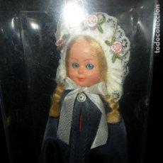 Muñecas Modernas: MUÑECA DANESA, TRAJE REGIONAL DINAMARCA - CELULOIDE 18CM. AÑOS 60'S -. Lote 94654459
