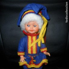 Muñecas Modernas: MUÑECO SUECO, TRAJE REGIONAL SUECIA- CELULOIDE 20CM. AÑOS 60'S -. Lote 94654795