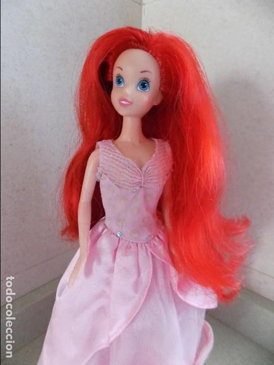 Muñecas Modernas: la sirenita Ariel disney, SIMBA - Foto 3 - 94721795