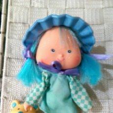 Muñecas Modernas: TARTA DE FRESA DE LOS 80: MERMELITA DE MORA CON SU MASCOTA. Lote 85350382