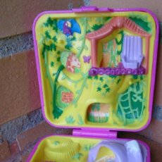 Muñecas Modernas: POLLY POCKET BLUEBIRD 1989 WILD ZOO WORLD. Lote 97366139
