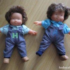 Muñecas Modernas: 2 MUÑECAS LAS TRES MELLIZAS , LES TRES BESSONES BUEN ESTADO JUGUETES. Lote 98027571