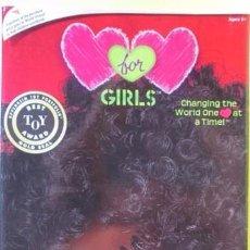 Muñecas Modernas: MUÑECA HEARTS FOR HEARTS GIRLS 2010 RAHEL ETIOPÍA AFRO TIPO LESLY HERAMAN NANCY FAMOSA NUEVA. Lote 98650487