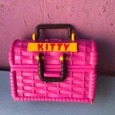 Muñecas Modernas: CASITA GATITO TIPO POLLY POCKET AÑOS 90. Lote 99264587
