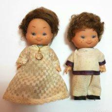Muñecas Modernas: PAREJA DE MUÑECOS TARTA DE COMUNIÓN AÑOS 80'S . Lote 99910008