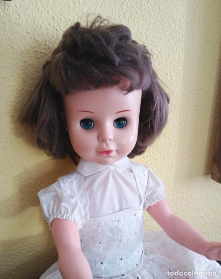 Muñecas Modernas: Antigua muñeca inglesa a cuerda. 55 cmtrs. - Foto 2 - 100215087