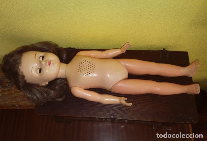 Muñecas Modernas: Antigua muñeca inglesa a cuerda. 55 cmtrs. - Foto 4 - 100215087