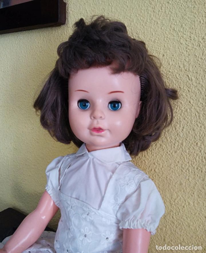 Muñecas Modernas: Antigua muñeca inglesa a cuerda. 55 cmtrs. - Foto 8 - 100215087