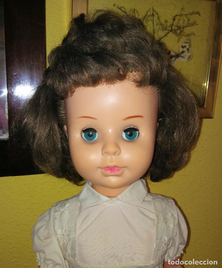 Muñecas Modernas: Antigua muñeca inglesa a cuerda. 55 cmtrs. - Foto 9 - 100215087