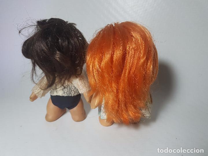 Muñecas Modernas: lote de dos muñecas de goma francesas laflex años 60-70 - Foto 2 - 100764235