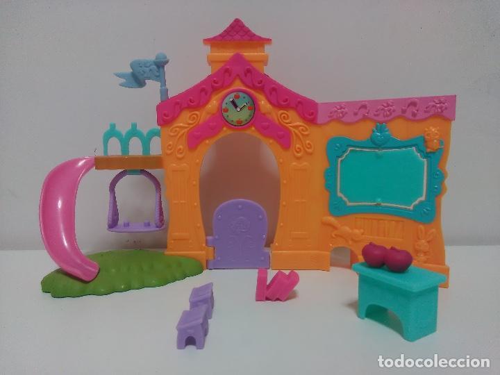 Muñecas Modernas: Lote Mi pequeño Pony - My Little Pony - G4 - Escuela + Ponis - Foto 2 - 101444287