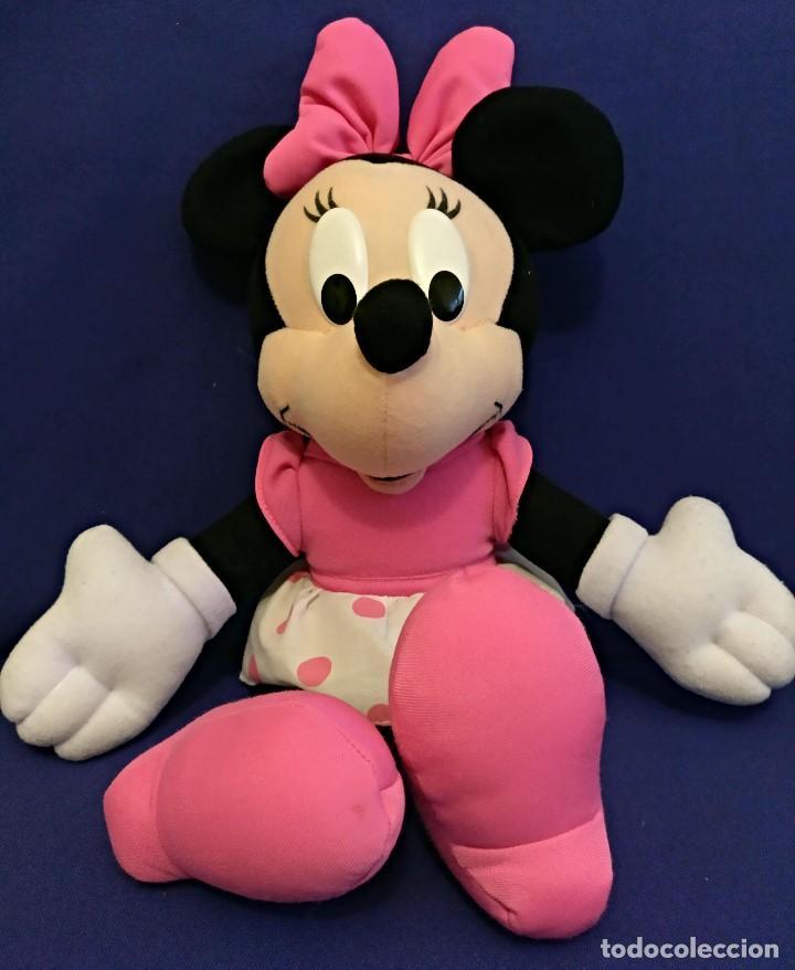 Muñecas Modernas: Lote de 4 muñecas Minnie de Disney,la mas grande mide 75 cm. - Foto 3 - 102080731