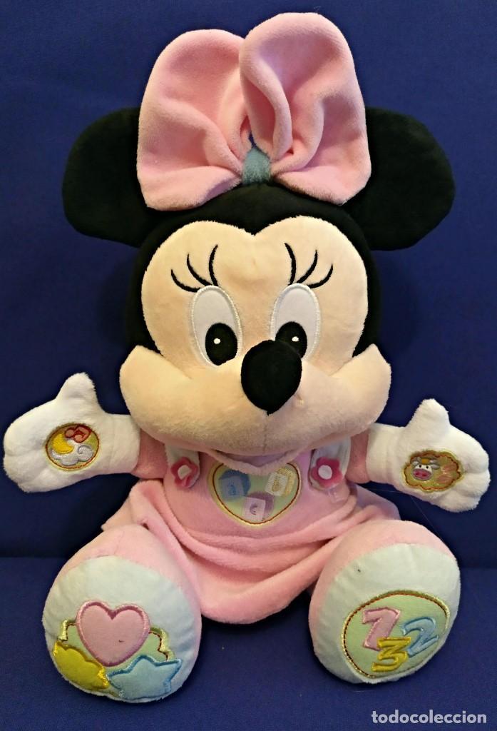 Muñecas Modernas: Lote de 4 muñecas Minnie de Disney,la mas grande mide 75 cm. - Foto 4 - 102080731