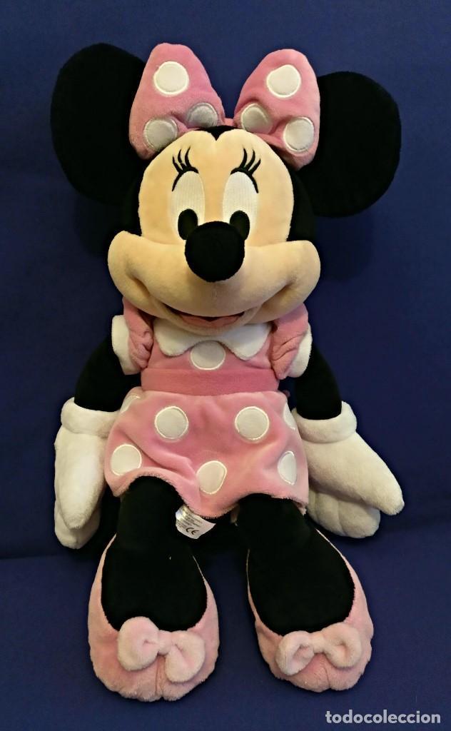 Muñecas Modernas: Lote de 4 muñecas Minnie de Disney,la mas grande mide 75 cm. - Foto 5 - 102080731