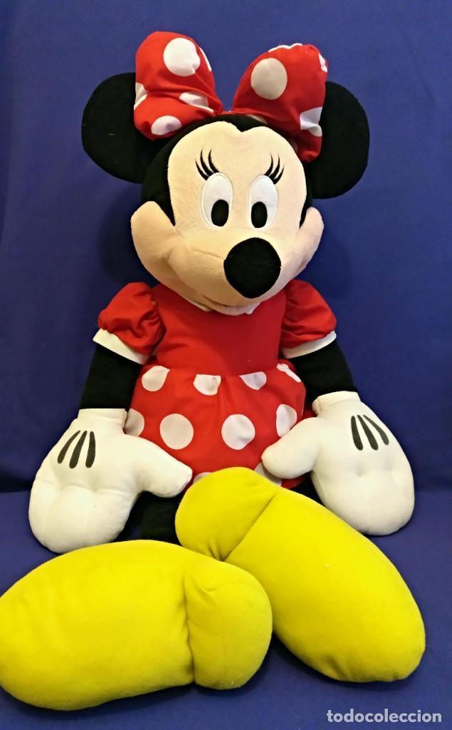 Muñecas Modernas: Lote de 4 muñecas Minnie de Disney,la mas grande mide 75 cm. - Foto 6 - 102080731