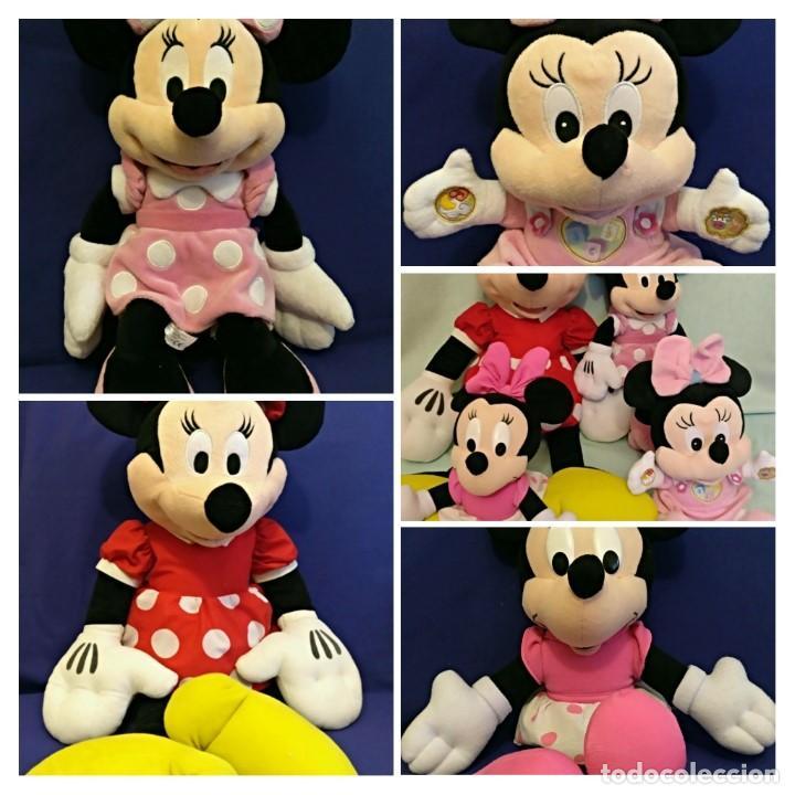 Muñecas Modernas: Lote de 4 muñecas Minnie de Disney,la mas grande mide 75 cm. - Foto 14 - 102080731