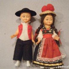 Muñecas Modernas: PAREJA DE MUÑECOS DE ALEMANIA. OJOS DURMIENTES. AÑOS 80. Lote 102438627