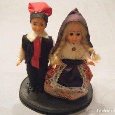 Muñecas Modernas: PAREJA DE MUÑECOS DE ANDORRA. OJOS DURMIENTES.. Lote 102440683