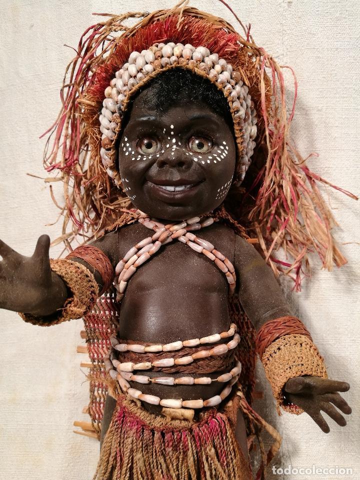 Muñecas Modernas: rara muñeca australiana 1 ER MODELO 1969 ...MATTI METTA --AUSTRALIA tamaño nancy - Foto 2 - 103528883