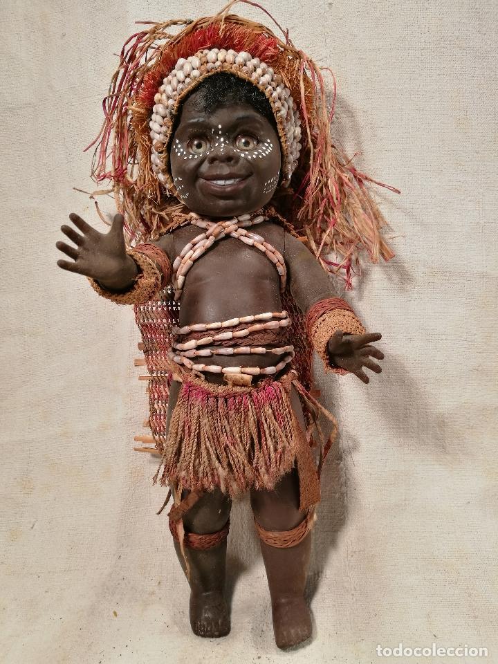 Muñecas Modernas: rara muñeca australiana 1 ER MODELO 1969 ...MATTI METTA --AUSTRALIA tamaño nancy - Foto 4 - 103528883