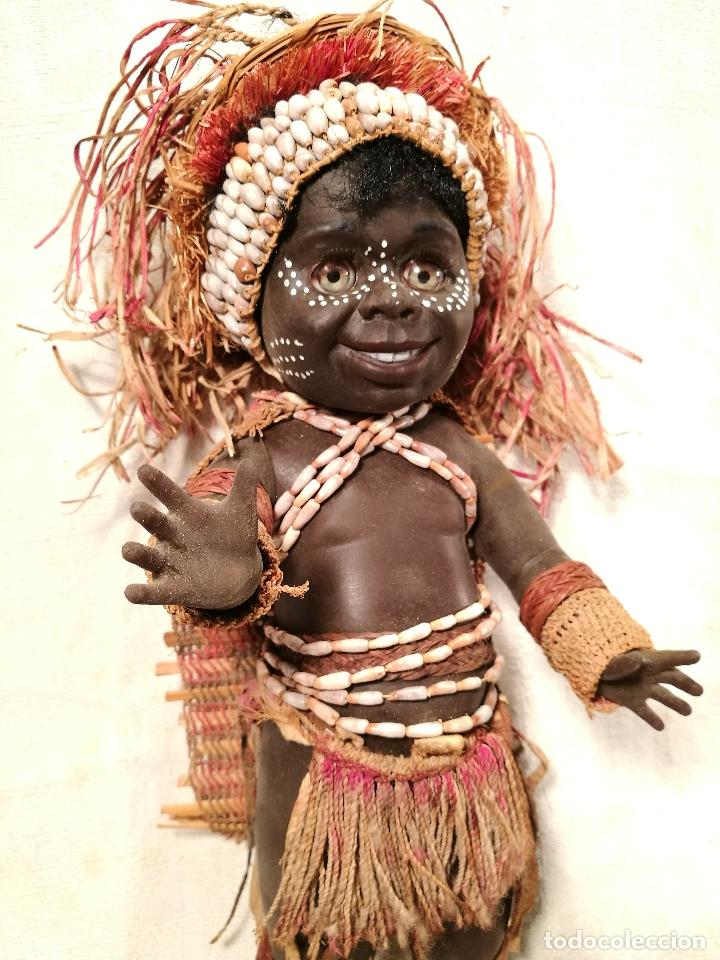 Muñecas Modernas: rara muñeca australiana 1 ER MODELO 1969 ...MATTI METTA --AUSTRALIA tamaño nancy - Foto 7 - 103528883