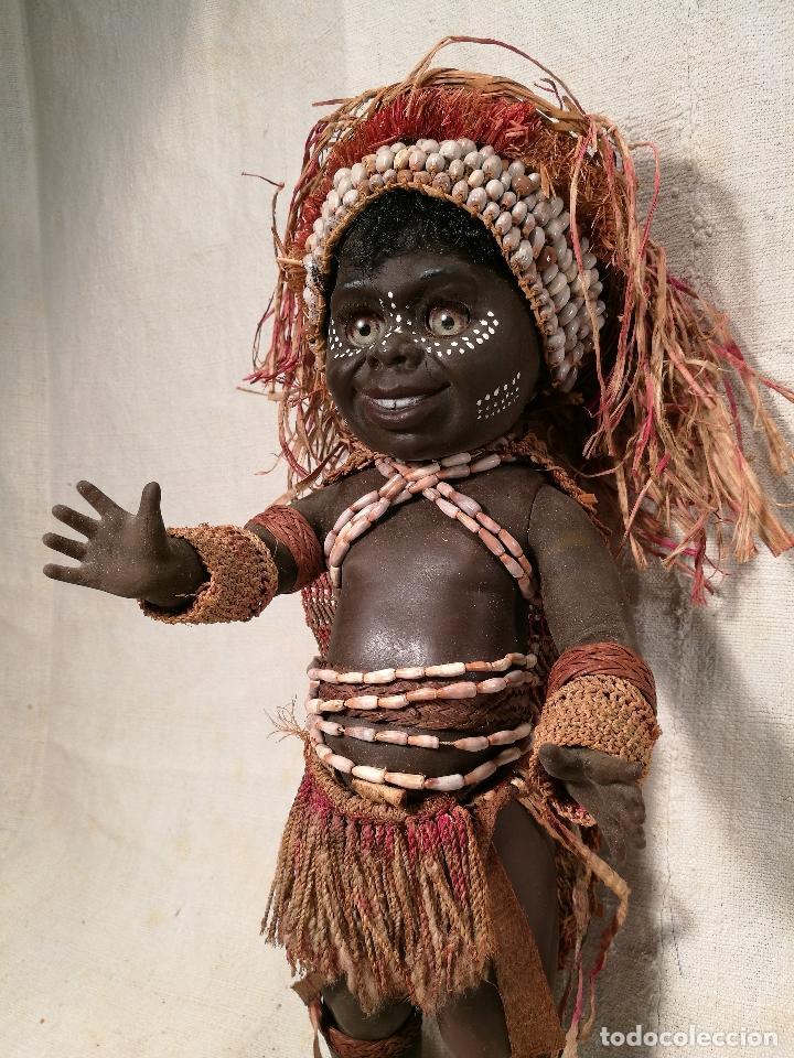 Muñecas Modernas: rara muñeca australiana 1 ER MODELO 1969 ...MATTI METTA --AUSTRALIA tamaño nancy - Foto 10 - 103528883