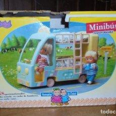 Muñecas Modernas: MINIBUS MUÑECOS MELLIZOS DE CHABEL . Lote 103931011