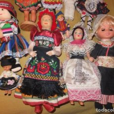 Muñecas Modernas: LOTE MUÑECAS DE COLECCIÓN. Lote 105835435