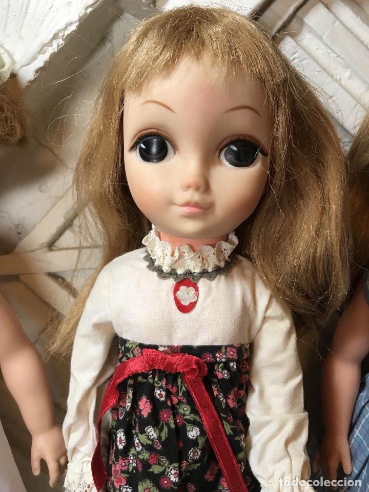 Muñecas Modernas: Vintage 1965 Vogue Big Eyes LOVE ME LINDA lote 3 muñecas con cuerpo de vinilo Primera edición - Foto 3 - 105971579