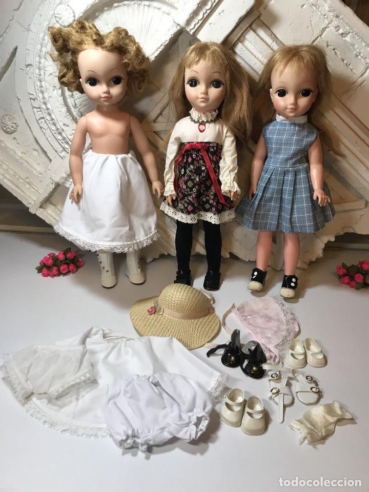 Muñecas Modernas: Vintage 1965 Vogue Big Eyes LOVE ME LINDA lote 3 muñecas con cuerpo de vinilo Primera edición - Foto 6 - 105971579