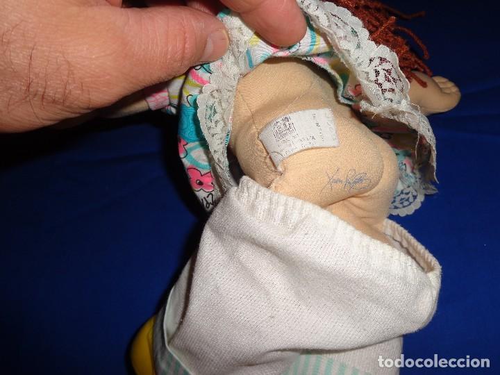 Muñecas Modernas: CABBAGE -BONITA MUÑECA CABBAGE PATCH KIDS REPOLLO AÑO 1990 HASBRO, Nº 36 VER FOTOS Y DESCRIPCION! SM - Foto 7 - 202347455
