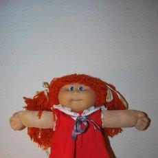 Muñecas Modernas: CABBAGE PATCH KIDS - XAVIER ROBERTS - MUÑECA REPOLLO - PELIRROJA - JESMAR - AÑOS 80 - T. Lote 107001307