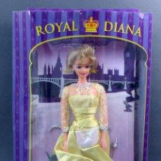 Muñecas Modernas: ROYAL DIANA MUÑECA PRINCESA LADY DIANA MADE IN CHINA NUEVA EN CAJA CON TRES VESTIDOS. Lote 107913407