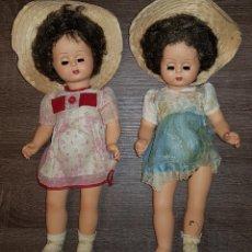 Muñecas Modernas: PAREJA DE MUÑECAS ORIGEN ITALIA O FRANCIA AÑOS 70'S.. Lote 109456434