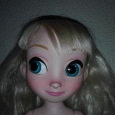Muñecas Modernas: MUÑECA PRINCESA ELSA FROZEN TAMAÑO ANIMATORS DISNEY CMGY. Lote 117888531