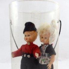 Muñecas Modernas: PAREJA DE HOLANDESES. MUÑECAS OJOS DURMIENTES. Lote 112413843