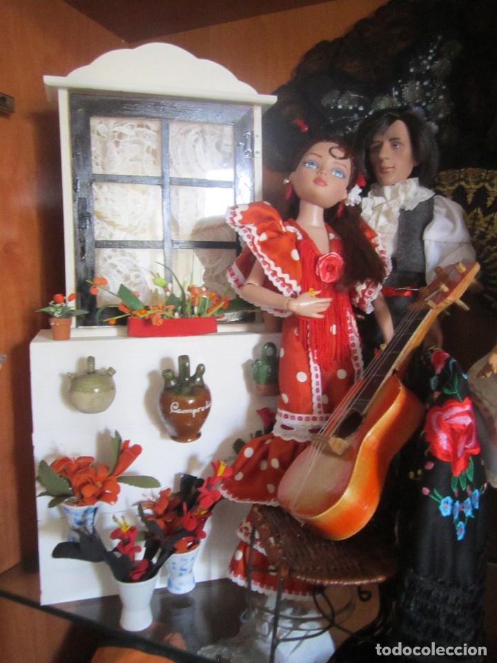 MUÑECA ELLOWYNE. LOTE TABLAO FLAMENCO (Juguetes - Muñeca Extranjera Moderna - Otras Muñecas)
