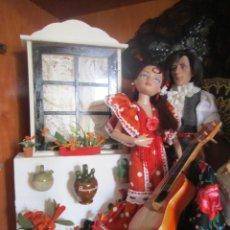 Muñecas Modernas: MUÑECA ELLOWYNE. LOTE TABLAO FLAMENCO. Lote 113225659