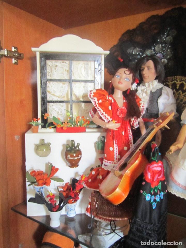 Muñecas Modernas: MUÑECA ELLOWYNE. LOTE TABLAO FLAMENCO - Foto 2 - 113225659