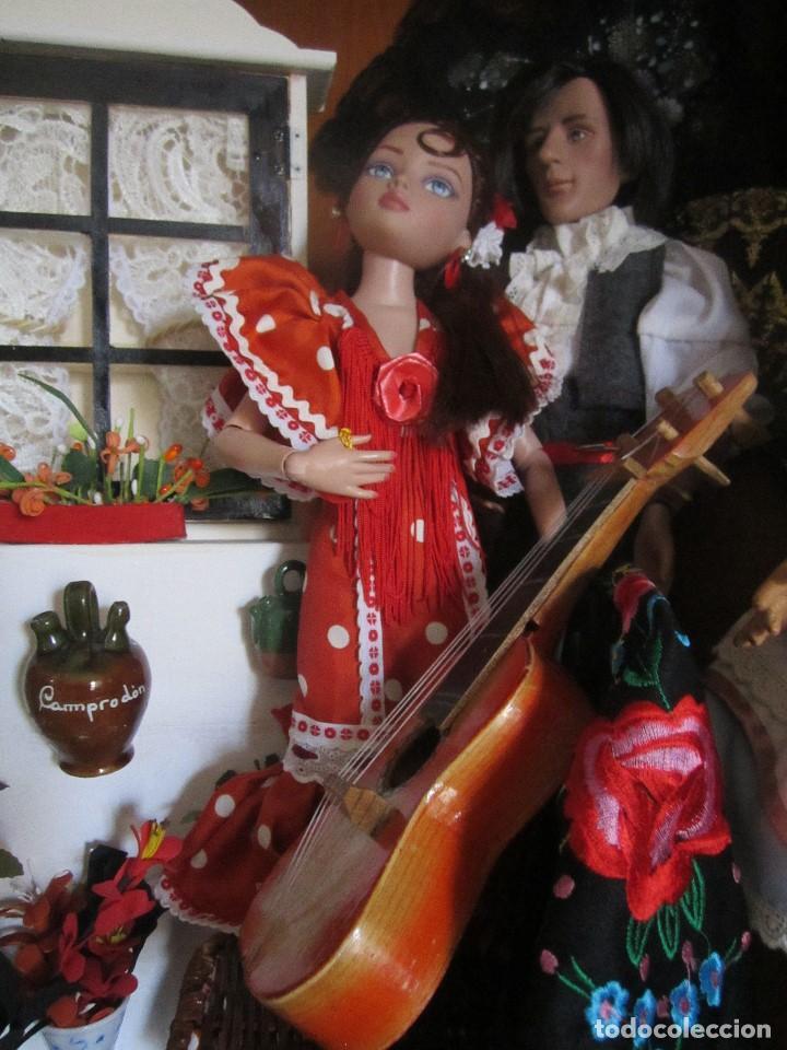 Muñecas Modernas: MUÑECA ELLOWYNE. LOTE TABLAO FLAMENCO - Foto 3 - 113225659