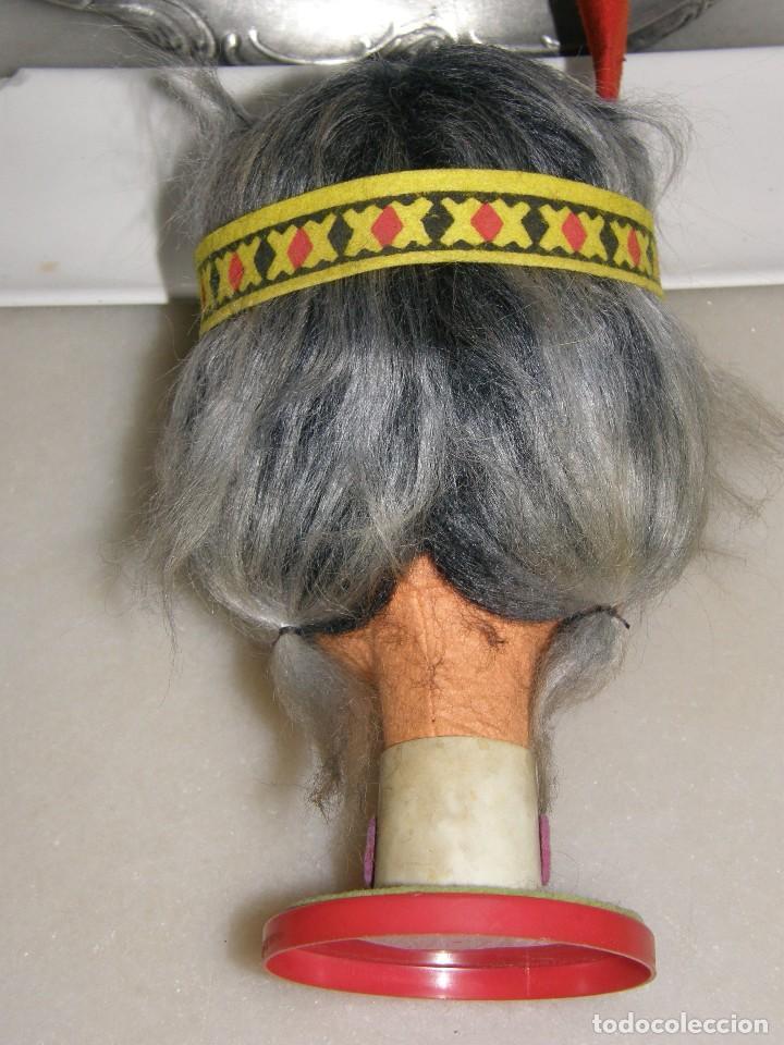 Muñecas Modernas: Niña - India - Muñeca - Cabeza -años 70 - Foto 2 - 113346723