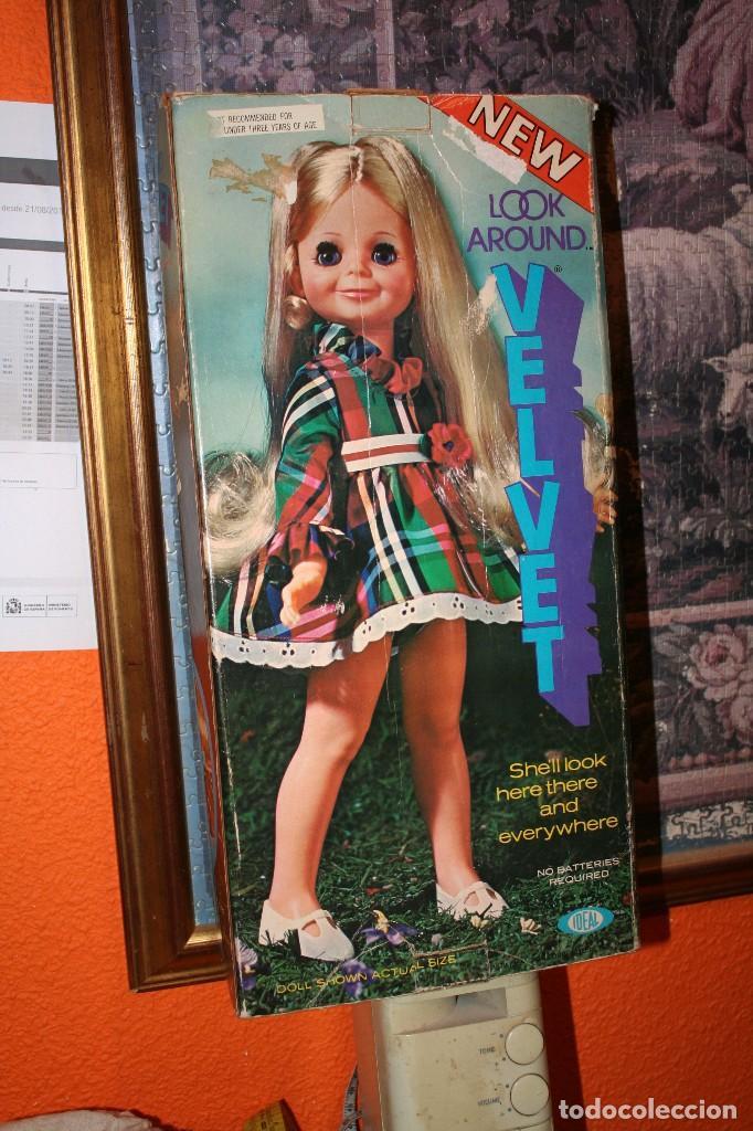 Muñecas Modernas: antigua muñeca velvet en caja de ideal - Foto 2 - 114391771