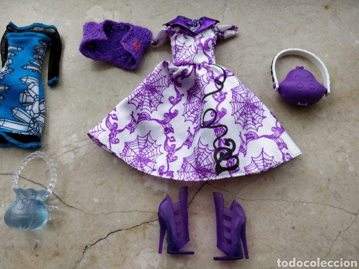 Muñecas Modernas: 2 conjuntos MONSTER HIGH OPERETTA Y ABBEY BOMINABLE - Foto 2 - 105425756