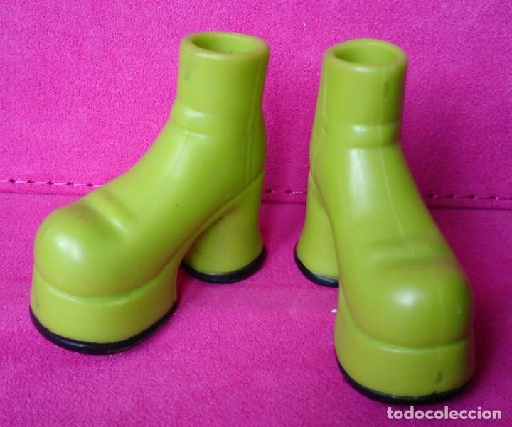 Muñecas Modernas: Zapatos botas verdes originales muñeca Bratz Dynamite Dance - Foto 2 - 145941194