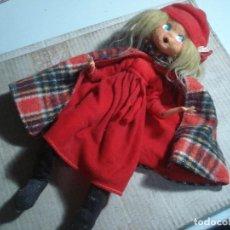 Muñecas Modernas: MUÑECA VINTAGE CREO QUE INGLESA. VER FOTOS. Lote 116209495