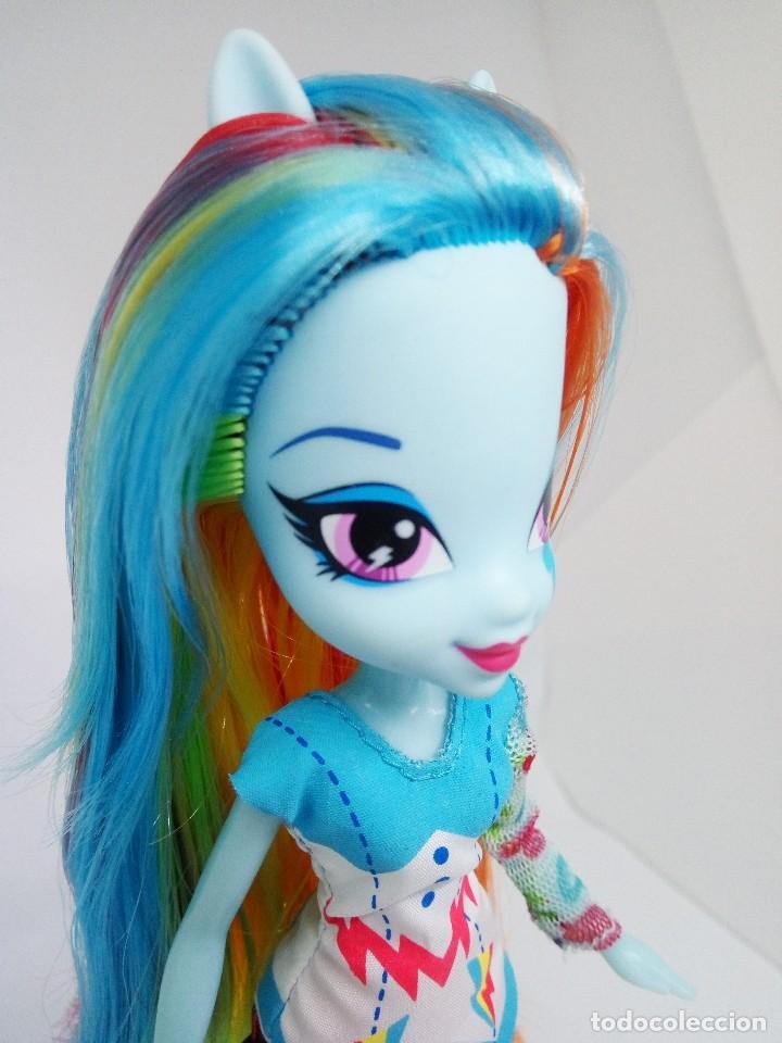 Muñecas Modernas: Muñeca Equestria Rainbow Dash (My Little Pony) - Foto 5 - 118310663