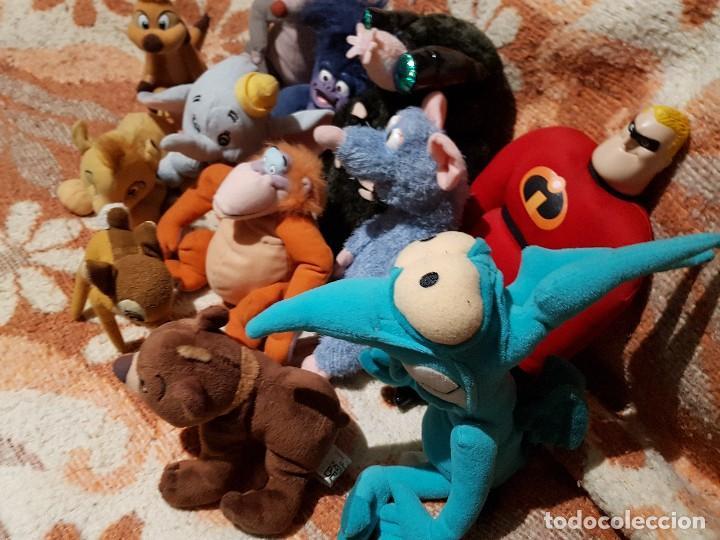 Muñecas Modernas: LOTE MUÑECOS Y PELUCHES DISNEY VARIADOS ** OFERTA ** EL AZUL NO INCLUIDO+ serpiente (ver fotos) - Foto 4 - 118770019